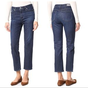 AG Adriano Goldschmied The Isabelle Crop Jeans